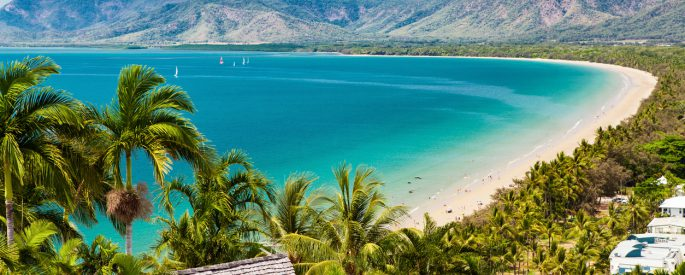 Port Douglas Strand in Queensland